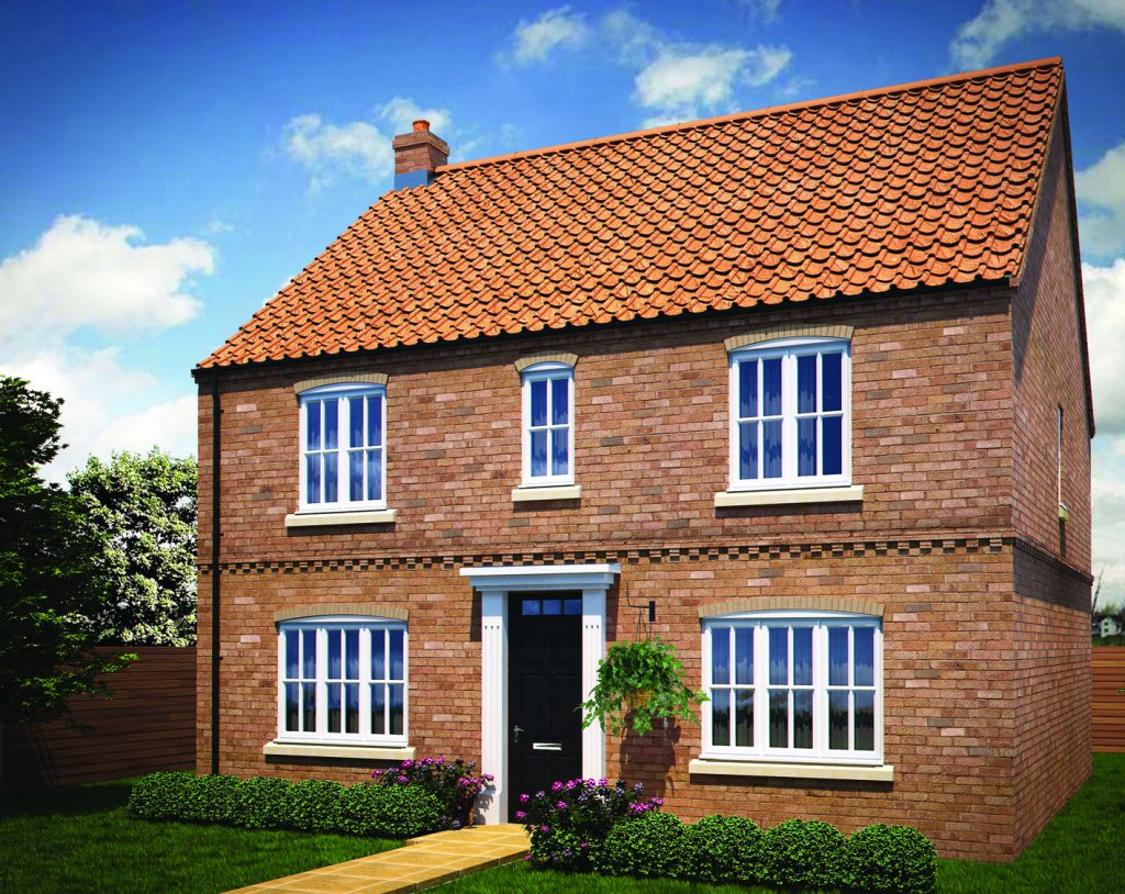 The bishopgate new home in richmond north yorkshire yorvik homes for Richmond home and garden show 2017