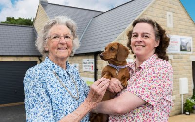 Mother and Daughter love our Leyburn Homes