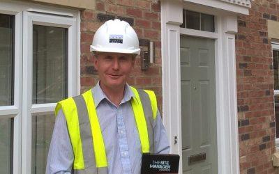 Michael Robinson wins 2017 LABC Site Manager Award
