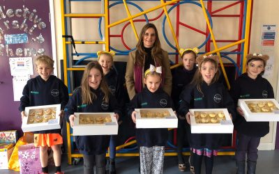 Supporting Spennithorne school with their Children in Need fundraising